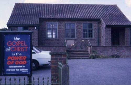 Church at Iden Green in the 1980s